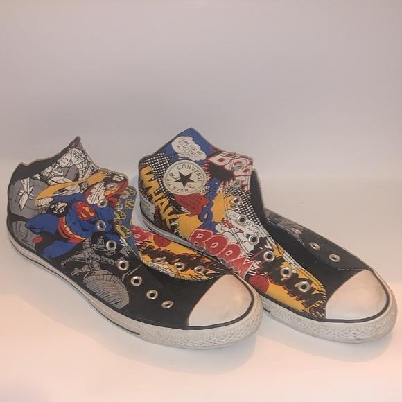 Retro Superman Comic Converse